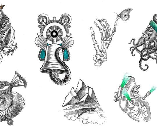 Dwa Śledzie w Ferajnie czyli kolejna szansa na wyjątkowe tatuaże