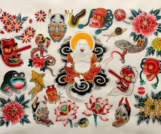 Tatuaż Japoński – Mateusz Kanu