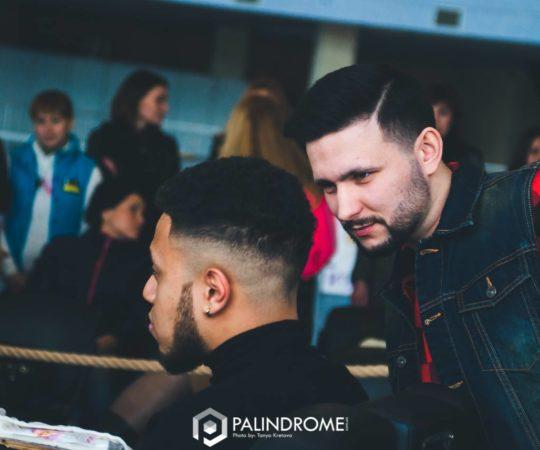 Bogdan w jury Open Barber's Cup 2016